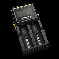 Зарядное устройство Nitecore D2 двухканальное, фото 1