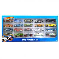 Набор машинок Hot Wheels (20шт)