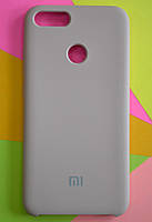 TPU + PC + MicroFiber Silicone Case for Xiaomi Mi 5X / Mi A1 Sand Pink (пудровый)