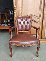 Крісло шкіряне в стилі Барокко