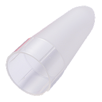 Ударопрочный диффузор для фонарей Nitecore NDF40 белый