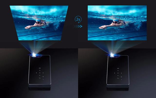 Выравнивание экрана проектора P8I
