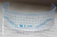 Линейка для бровей KMC цв.синий