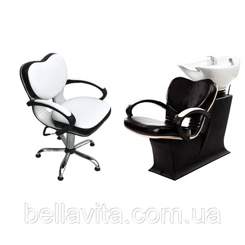 Комплект парикмахерской мебели Клио