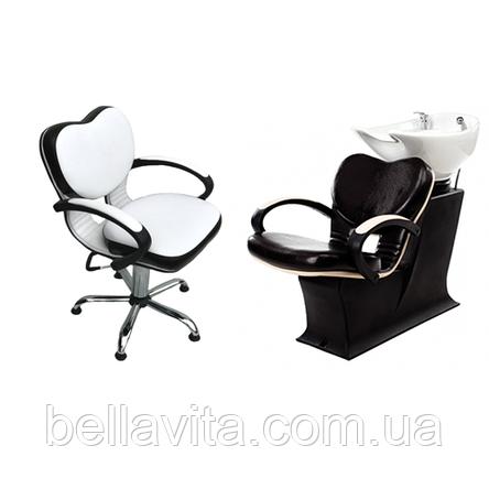 Комплект парикмахерской мебели Клио, фото 2