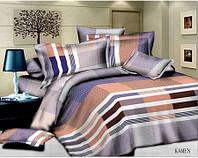 Комплект постельного белья Classi сатин Kamen Евро