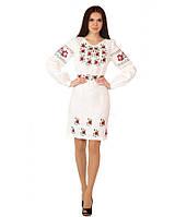Плаття вишите жіноче(лляне біле)