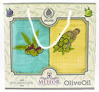 """Набір вафельних рушників для кухні """"OliveOil"""", 2 шт., 40х60 см (Туреччина)"""