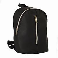 Женский рюкзак Valabi черный из эко-кожи украинского производства, фото 1