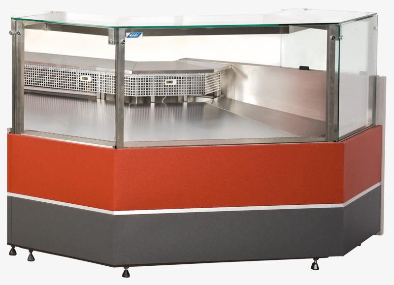 Вітрина холодильна кутова зовнішня / внутрішня COLD VERONA NW/NZ (W-PS-k NW/NZ)