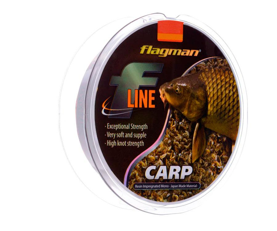 Леска Flagman F-Line Carp 0,28 мм 9.15 кг