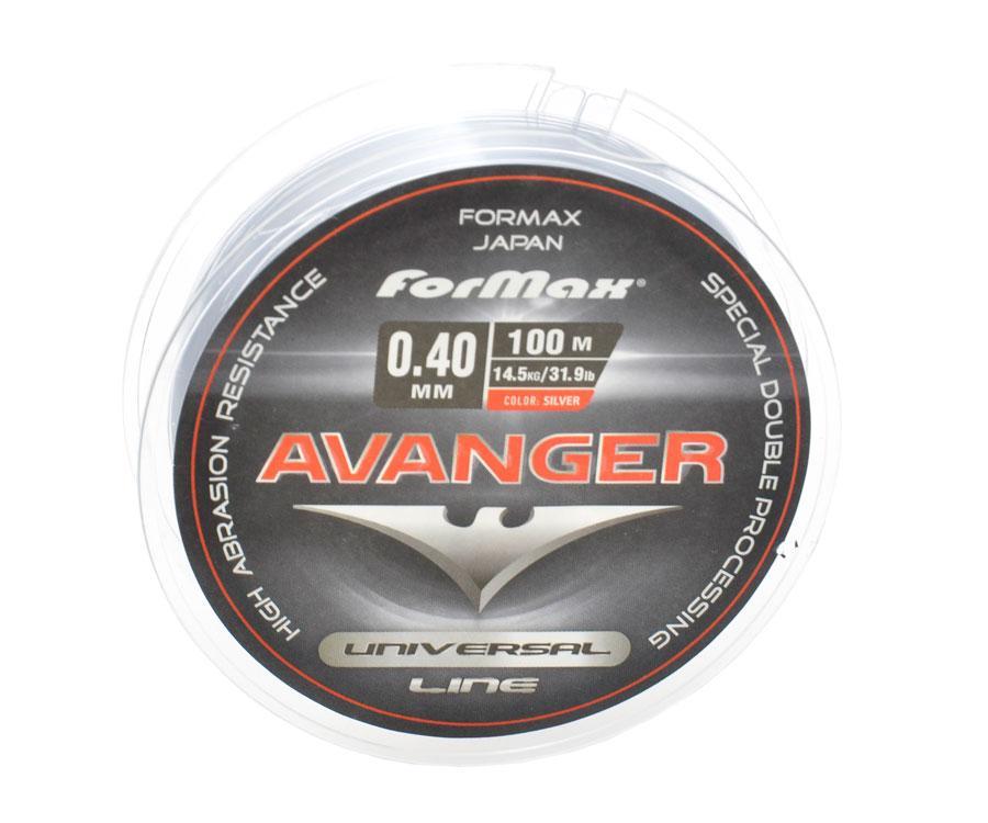 Леска ForMax Avanger Silver 0,40 мм