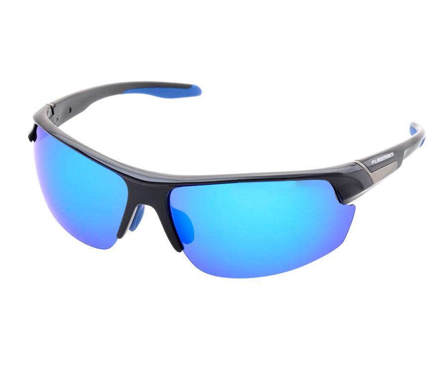 Очки поляризационные Flagman, Blue Revo Lens, кейс в комплекте