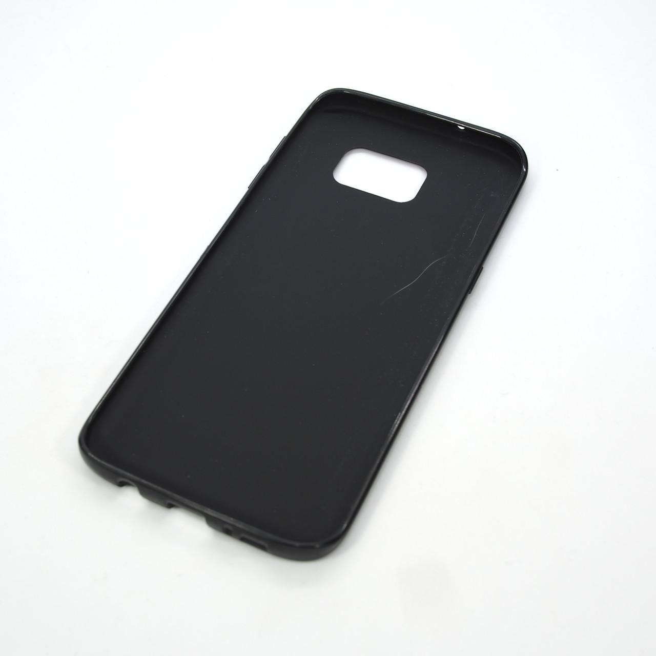 Чехлы для Samsung Galaxy S7 TPU bamper Edge G935 black Для телефона