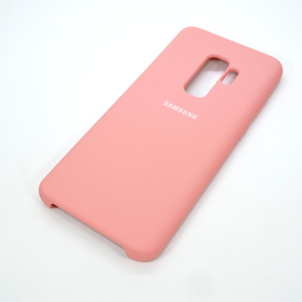 Original Soft Samsung Galaxy S9 Plus G965 pink S9+ Для телефона Розовый