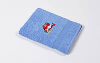Полотенце кухонное махровое Lotus Sun Twinkle голубой 40*70