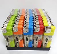 Зажигалка xFox с фонариком 50шт/уп, фото 1