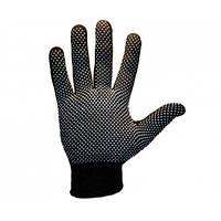 Перчатки женский стрейч чёрный