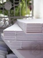 Блок для блокнота белый А5 (15х21см), 78 листов, 80 г / м2, BB001