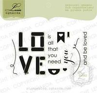 Набор штампов LOVE YOU, 13шт, SV062