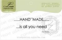 Набор штампов Hand Made - is all you need, 2шт, IS004b