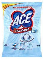 Плямовивідник Ace Oxi Magic для білого 200г.