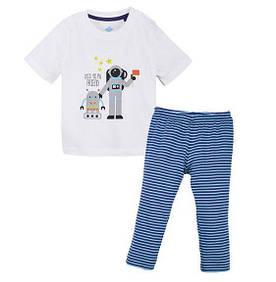 Пижама для мальчика футболка и штаны  р.98/104, 110/116