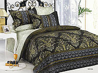 Комплект постельного белья Arya сатин печатный  Katrina Евро