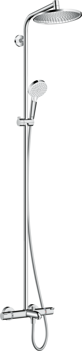 Hansgrohe Crometta S 240 27320000 душевая система с термостатом