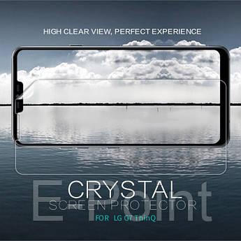 Защитная пленка Nillkin Crystal для LG G7+ / LG G7 ThinQ