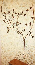 Кованая вешалка для одежды в форме дерева