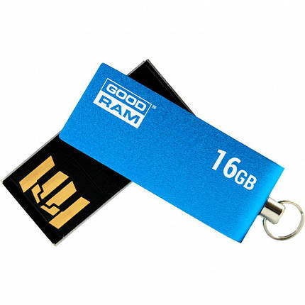 USB флеш накопитель GOODRAM 16GB UCU2 Cube Blue USB 2.0 (UCU2-0160B0R11), фото 2