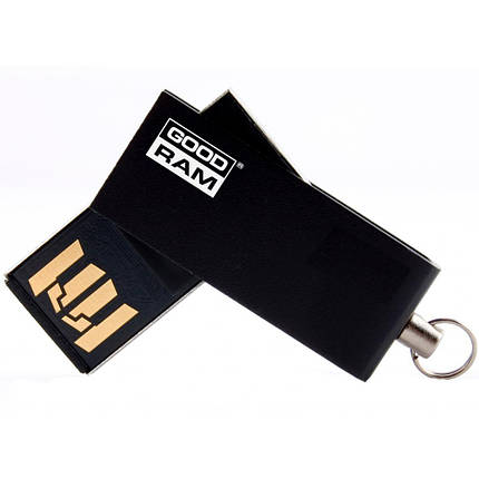 USB флеш накопитель GOODRAM 32GB Cube Black USB 2.0 (UCU2-0320K0R11), фото 2