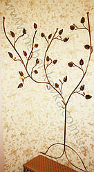 Кованая вешалка в форме дерева