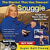 Одеяло-плед с рукавами Snuggie (Снагги), плед-халат, фото 10