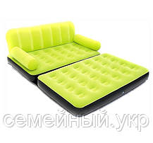 Надувной диван. 188х152х64 см. Электронасосом 220V. BestWay, фото 3
