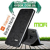 Чехол-книжка MOFI Vintage соты для Xiaomi Redmi Note 7