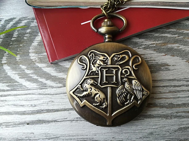 Часы карманные подвеска кулон  Хогвартс Гарри Поттер Harry Potter