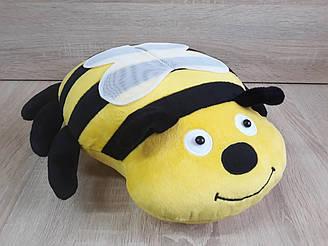 Мягкая игрушка-подушка пчела ручная работа