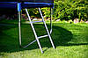 Батуты FunFit 490 см. сетка, лестница, фото 4