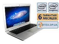Ноутбук Apple MacBook Air A1237 13.3 (1280x800)/  Intel Core 2 Duo (2x1.6GHz)/  RAM 2Gb/  HDD 60Gb/  АКБ 1 ч. 12 мин/  Сост. 9/10 БУ