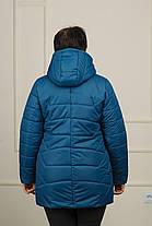 Весенняя женская куртка большого размера Нина, фото 3