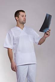 Мужской медицинский костюм хирургический 2222 ( батист 42-56 р-р )