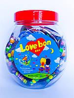 Шоколадные разноцветные драже филютки в разноцветной оболочке Love Bon 10гр/48шт Aras Турция
