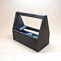 Ящик для инструментов Спартак 30 чёрный