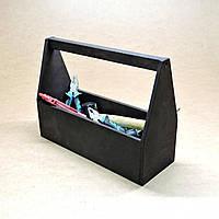 Ящик для инструментов Спартак 40 чёрный