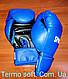 Боксерские перчатки тренировочные кожвинил 12 унций., фото 5