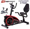 Напольный велотренажер HS-67R Axum black/red