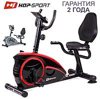 Велотренажер для ніг HS-67R Axum black/red, фото 1