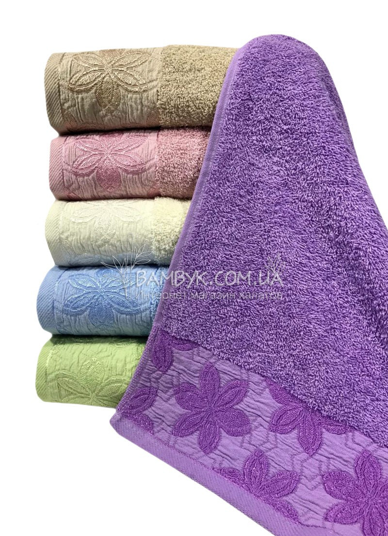 Банные махровые полотенца Sweet Dreams 70x140 (6-шт)